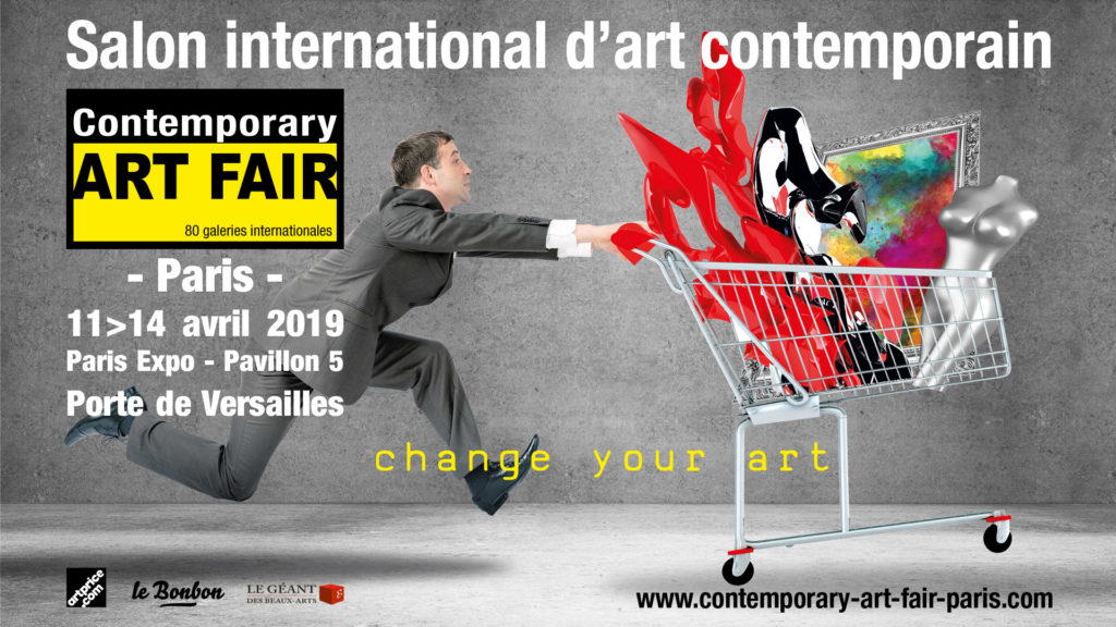 Contemporary ART FAIR Paris 11 - 14 Avril 2019 - Paris Expo Porte de Versailles